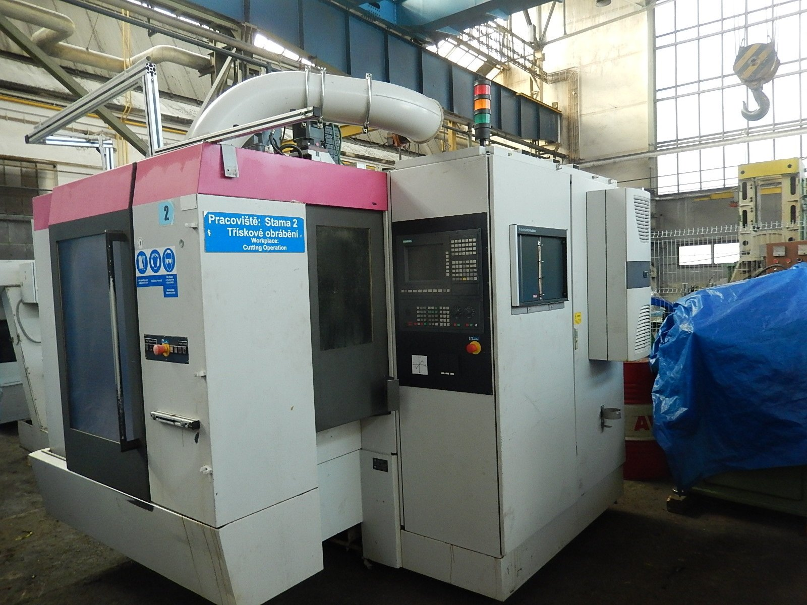 CNC VERTICAL MACHINING CENTERS B-3V 410